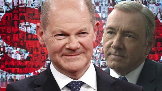 Ob die SPD wirklich absichtlich an TV-Bösewicht Francis Underwood erinnern wollte?