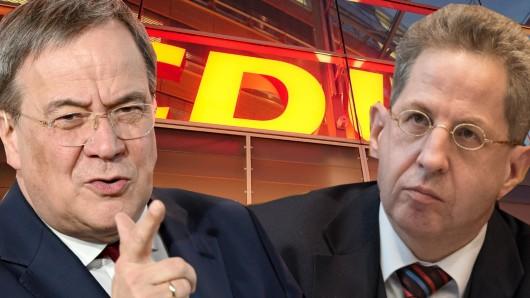 Wird CDU-Kandidat Hans-Georg Maaßen zur Belastung im Wahlkampf von Kanzlerkandidat Armin Laschet?