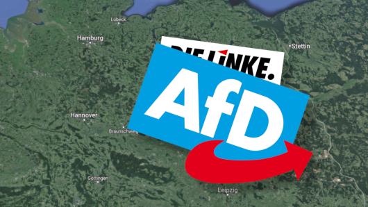 Die AfD hat der Linkspartei längst den Rang als Partei der Ostdeutschen abgelaufen.