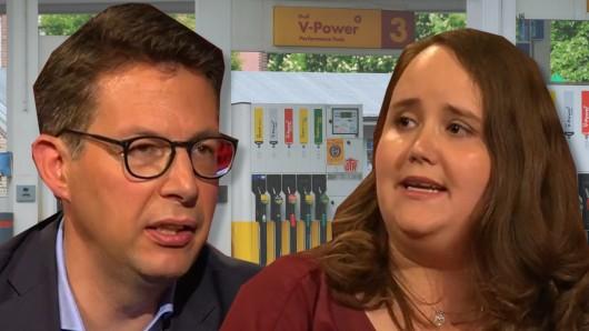 Grünen-Vizechefin Ricarda Lang und CSU-Generalsekretär Markus Blume stritten bei Hart aber fair (ARD) über die Spritpreis-Erhöhung.