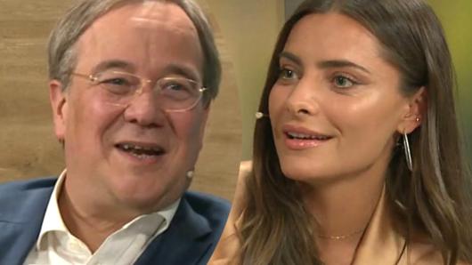 CDU-Wahlkampf auf Facebook: Kanzlerkandidat Armin Laschet und Sophia Thomalla.