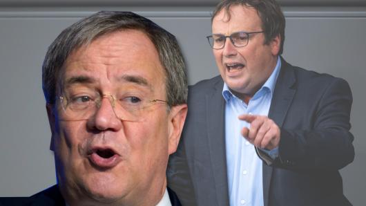 Heftige Attacke auf Kanzlerkandidat Armin Laschet von Vize-Fraktionschef der Grünen, Oliver Krischer.