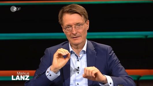 Karl Lauterbach spricht bei Markus Lanz (ZDF) über ein brisantes Corona-Experiment.