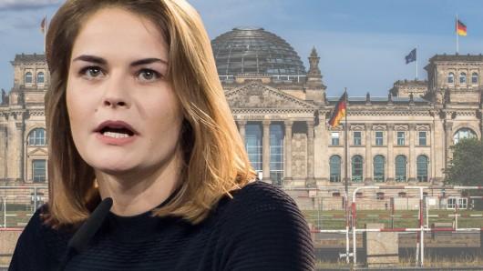"""Hazel Brugger packt über die Politker aus, die sie für Aufnahmen für die """"heute-show"""" (ZDF) getroffen hat."""