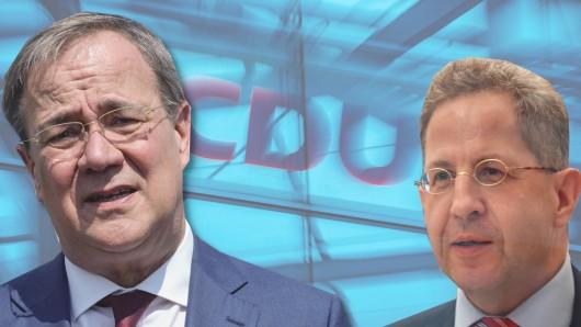 Wird Hans-Georg Maaßen zum Problem für Kanzlerkandidat Armin Laschet?