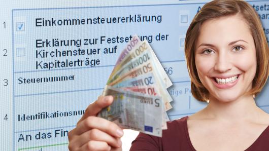 Steuerbescheid ist da: Die Freude ist groß, wenn es Geld zurück gibt vom Finanzamt.