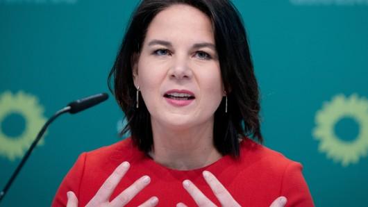 Steht als Kanzlerkandidatin in der Kritik: Annalena Baerbock.