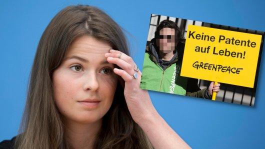 Luisa Neubauer plaudert über eine kuriose Begegnung mit einem Greenpeace-Aktivist. (Symbolbild)