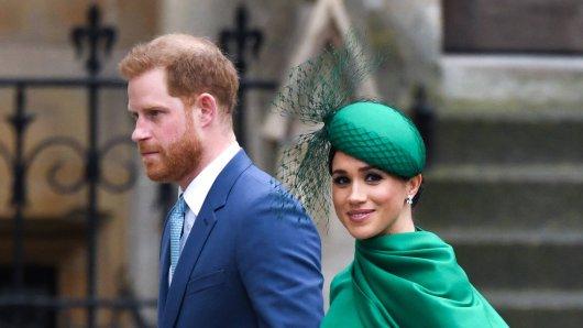 Meghan Markle und Prinz Harry, hier im November 2020, wohnen mittlerweile in den USA.