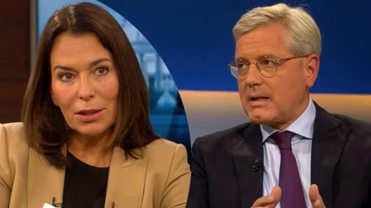 CDU-Politiker Nobert Röttgen zu Gast bei Anne Will.