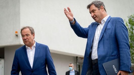 In einer trotzigen Pressekonferenz macht Markus Söder eine klare Ansage an FDP, Grüne und Armin Laschet!