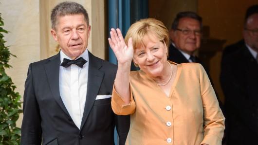 Kanzlerin Angela Merkel und ihr zweiter Ehemann Joachim Sauer.
