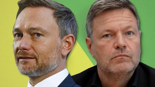 Ampel-Zoff zwischen FDP und Grünen, weil Christian Lindner eine Bombe platzen ließ.