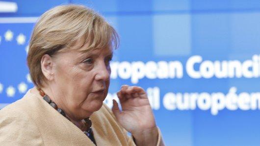 Angela Merkel bei ihrem wohl letzten EU-Gipfel.