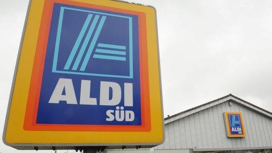 Aldi hat einen neuen Weg entwickelt, um die Warenlieferung sicherzustellen. (Symbolfoto)
