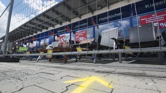 Der Tatort des Überfalls auf einen Geldtransporter in Cremlingen.