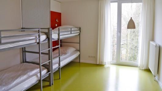 Frisch renoviert: Ein Zimmer im JGH Wolfenbüttel.