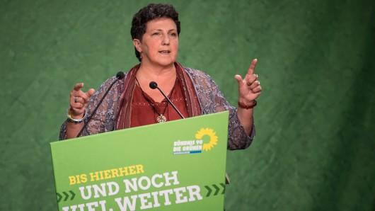 Anja Piel, Fraktionsvorsitzende der Grünen im niedersächsischen Landtag.