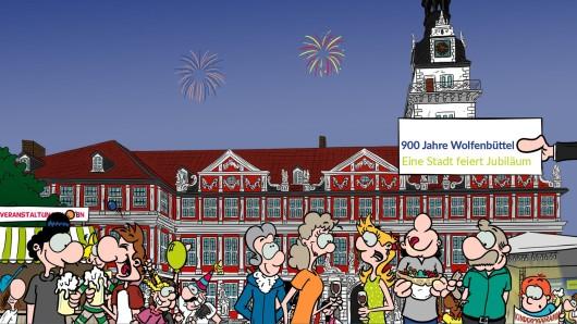 Die Stadt Wolfenbüttel lockt bereits mit Appetit-Häppchen zum Besuch.