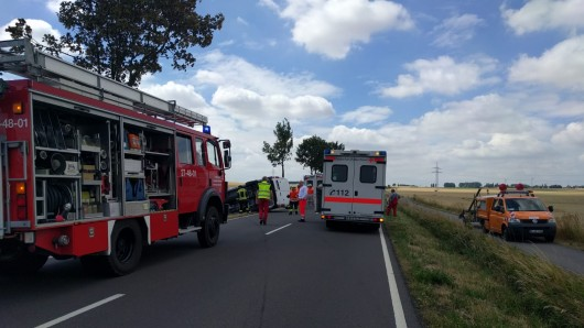 Unfall am Montagvormittag.