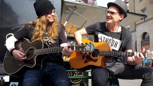 Das Duo Wolfs Vision aus Leipzig ist am 8. September mit am Start.