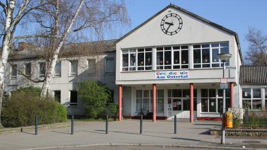 Auch die Grundschule Am Ostertal in Salzgitter wurde verwüstet.