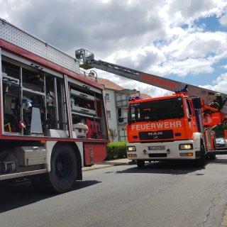 Einsatz für die Feuerwehr Wolfenbüttel im Kiefernweg.