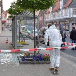 Im April 2018 flogen zwei Geldautomaten in der Commerzbank-Filiale in Wolfenbüttel in die Luft.