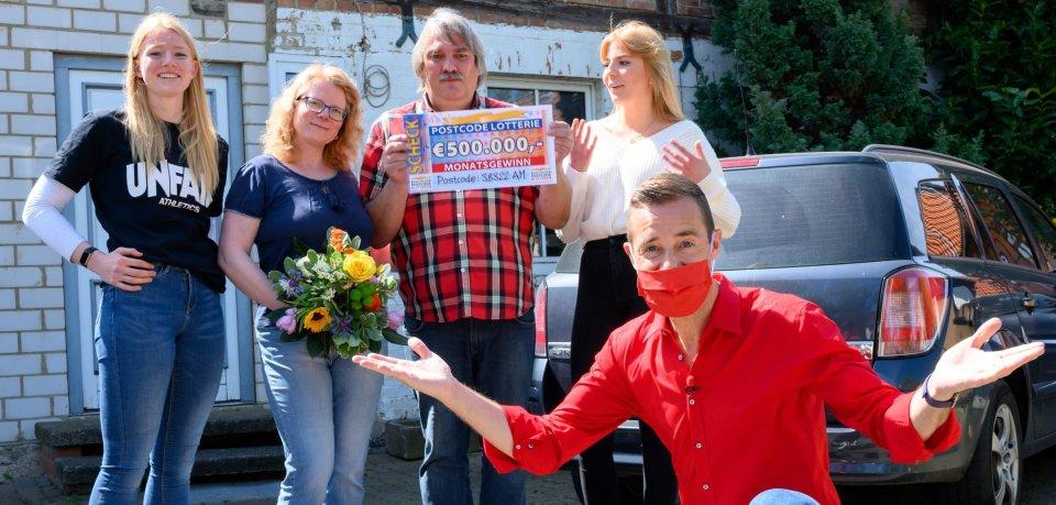 Kai Pflaume überraschte eine Familie aus dem Kreis Wolfenbüttel.