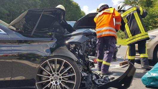Nahe der A36 in Wolfenbüttel hat es am Dienstag einen schweren Unfall gegeben.