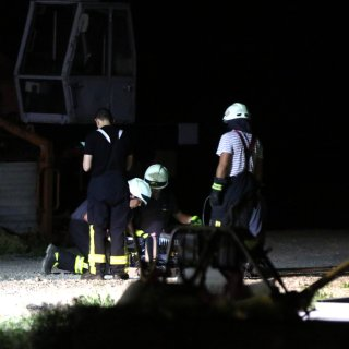 Unglück in Burgdorf im Kreis Wolfenbüttel: Die Feuerwehr konnte den Mann nicht mehr retten.