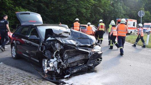 Schwerer Unfall im Kreis Wolfenbüttel!