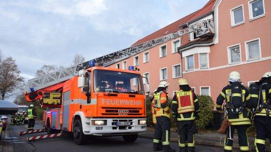 Ein Hund ist bei einem Feuer in Wolfenbüttel ums Leben gekommen.