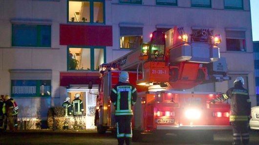 Schrecksekunde in einem Mehrfamilienhaus in Wolfenbüttel!