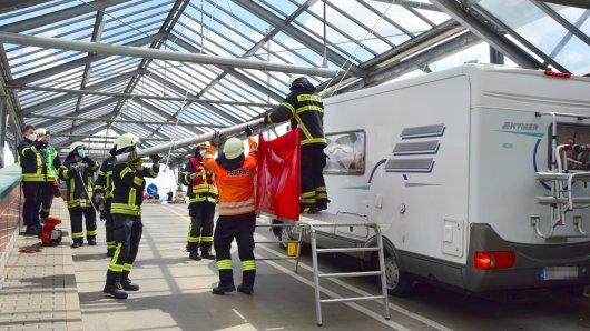 Feuerwehreinsatz im Forum Wolfenbüttel!