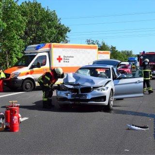 Drei Menschen wurden auf der A36 bei Wolfenbüttel verletzt.