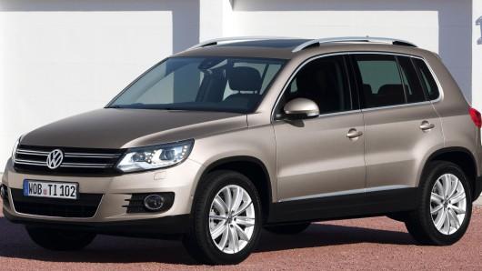 Ein Volkswagen Tiguan. (Symbolbild)