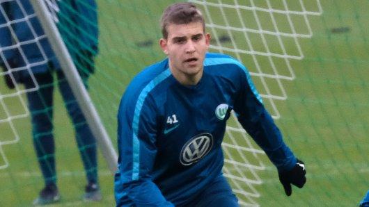 Hendrik Hansen beim VfL-Training.