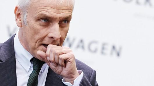 VW-Chef Matthias Müller.