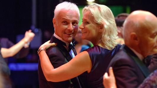 Matthias Müller und Barbara Rittner beim Opernball in Leipzig 2016.