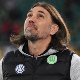Wolfsburgs Trainer Martin Schmidt.