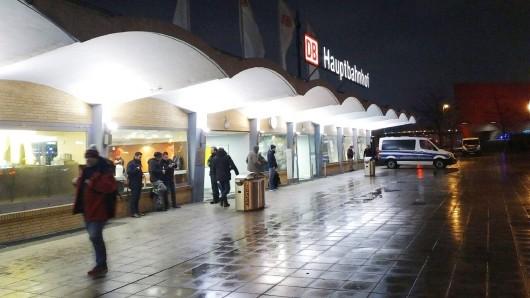 Der Hauptbahnhof Wolfsburg.