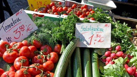 Auf dem Hansaplatz gibt es heute keinen gewöhnlichen Wochenmarkt. (Symbolbild)