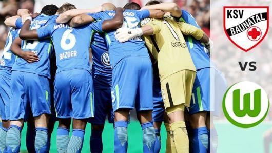 Ein weiteres Testspiel: Der VfL Wolfsburg tritt beim KSV Baunatal an.