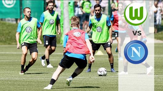 Der VfL Wolfsburg testet gegen den Vizemeister der Serie A: SSC Neapel.