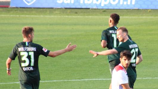 Maxi Arnold kurz nach seinem Treffer.