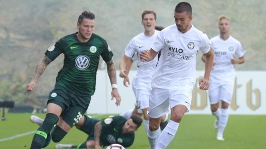 Daniel Ginczek erzielte die 1:0 Führung