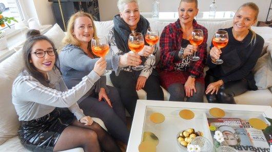 Das sind die Wolfsburger Shopping-Queen-Kandidatinnen (von links): Mandy, Monika, Maria, Gaby und Herdis.