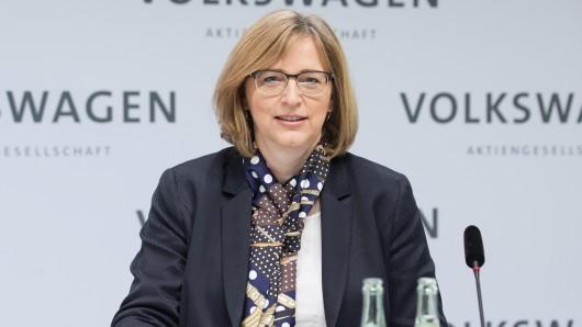 VW-Managerin Hiltrud Werner bereitet es Sorgen, dass die AfD so viele Arbeitnehmer erreicht. Aktuell ist sie im Volkswagen-Konzern für die Ressorts Integrität und Recht zuständig.(Archivbild)