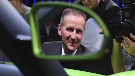 VW-Vorstandschef Herbert Diess